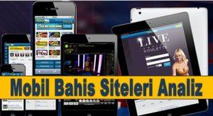 Mobil Bahis Siteleri
