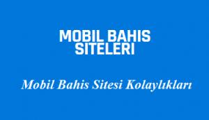 Mobil Bahis Sitesi Kolaylıkları