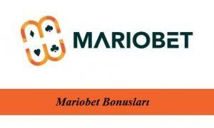 Mariobet Bonusları